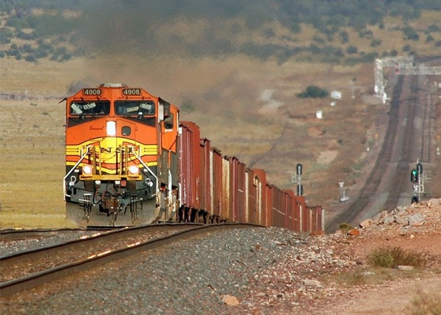 gaz de schiste  warren buffet  BNSF  locomotive