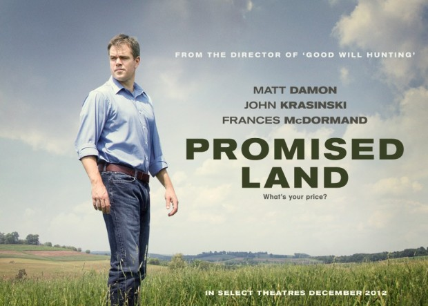 promised land  gaz de schiste  matt damon  transition énergétique