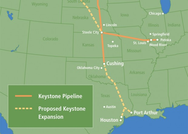 Keystone XL  pétrole  gaz de schiste  Etats-Unis  TransCanada  Keystone  pétrole brut  Oil Change International  Steve Kretzmann  Agence internationale de l'énergie  oléoduc
