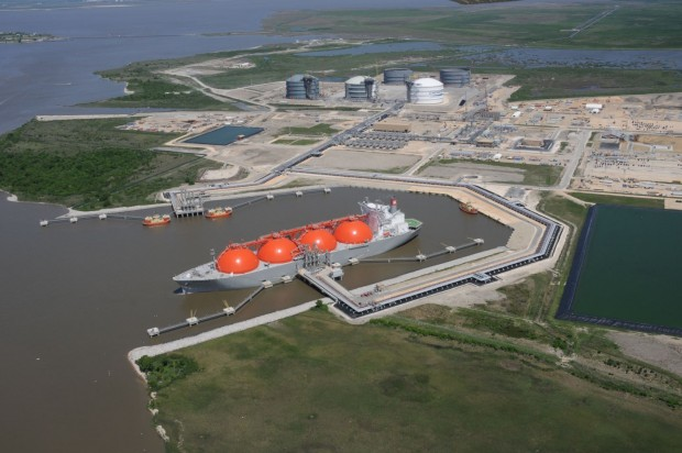 Washington  Cameron Parish  exportations  GDF Suez